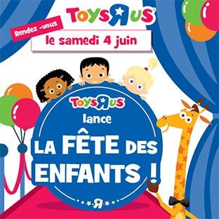 Toys R Us Fête des Enfants : Animations et Cadeaux Lego