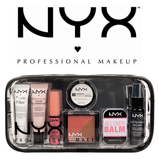 Jeu Stylist : 50 Travel Kits de maquillage NYX à gagner