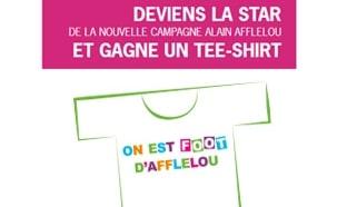 Jeu Afflelou : 50'000 t-shirts gratuits
