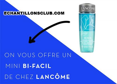 Bi-Facil : Le démaquillant Lancôme gratuit en exclu chez Sephora