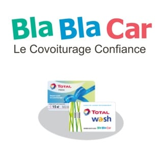 blablacar covoiturage carte carburant total de 15 offerte. Black Bedroom Furniture Sets. Home Design Ideas