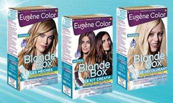 150 Kits Créatif Blonde Box de Eugène Color à tester