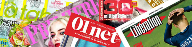 Magazines moins chers