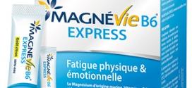 Échantillon du complétement alimentaire Magnévie B6 Express