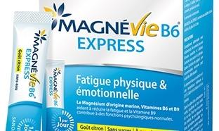 échantillon Magnévie B6 express