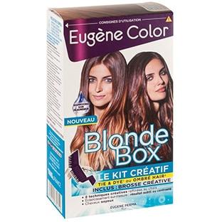 Test du kit Créatif Blonde Box de Eugène Color : 150 gratuits