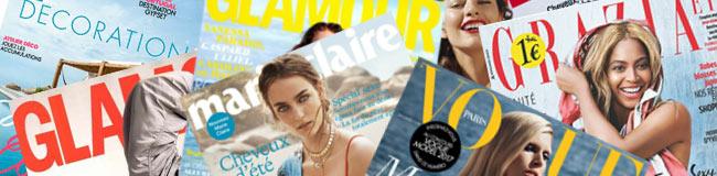 Magazines féminin moins chers