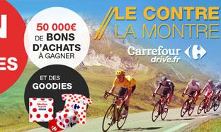 Jeu Carrefour Contre la Montre : 8210 cadeaux et 1 an de courses