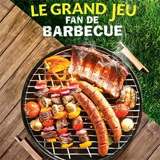 Jeu Lidl Fan de Barbecue : 1085 cadeaux et 10 voyages à gagner