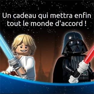 Jeu LEGO : 130 cadeaux LEGO Star Wars Vader Advanced à gagner