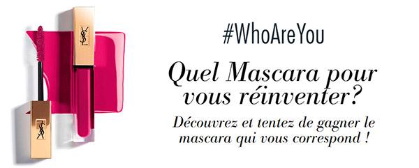 100 mascaras Vinyl Couture YSL à gagner