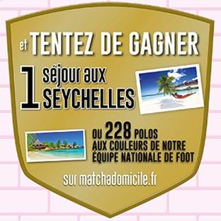 Jeu La Belle adresse : 228 polos FFF et 1 séjour aux Seychelles