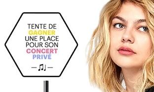 Jeu Maybelline : 450 lots + 40 places pour le concert Louane
