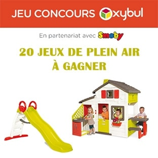 jeu oxybul 20 jouets d ext rieur smoby gagner. Black Bedroom Furniture Sets. Home Design Ideas