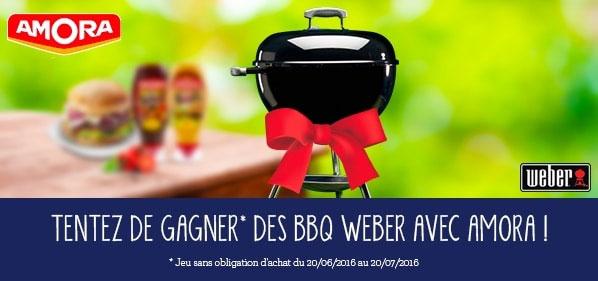 Barbecues Weber Original à gagner avec Amora et Ma vie en couleurs