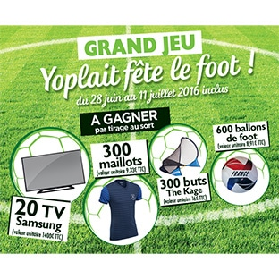 jeu yoplait f te le foot avec carrefour 1220 cadeaux gagner. Black Bedroom Furniture Sets. Home Design Ideas