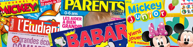 Magazines Jeunesse & Parents