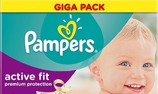 Promotions couches Pampers chez Carrefour