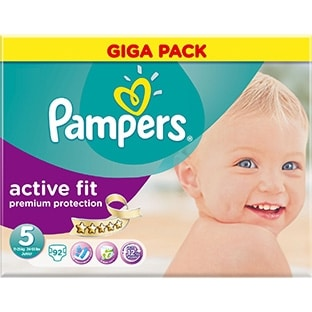 Promotions couches Pampers chez Carrefour : 13€ le Giga pack