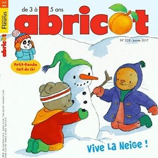 Abonnement magazine Abricot moins cher à 25€ (soit -50%)