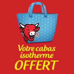 Nos Bel Idées : 3 fromages = 1 sac isotherme Vache Qui Rit offert
