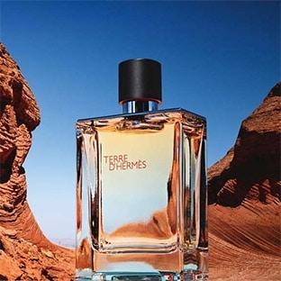 Échantillon gratuit de parfum Terre d'Hermès