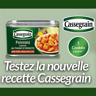 Test Cassegrain : Boîtes gratuites de poivrons cuisinés