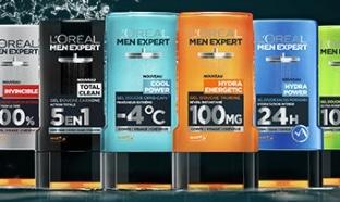 Testez gratuitement les gels douche L'Oréal Men Expert