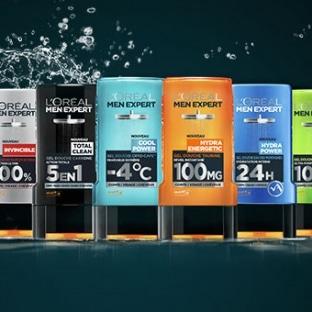 Test de gels douche L'Oréal Men Expert : 100 gratuits