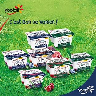 Test gratuit de Yaourts Yoplait au lait de chèvre et de brebis