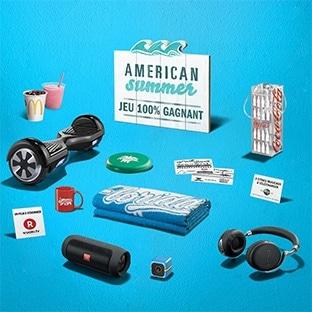 Jeu Mc Donald's American Summer 2016 : 30 millions de cadeaux