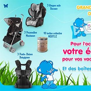 Jeu Infobébés : 19 équipements pour bébés à gagner