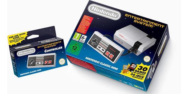 Console Nintendo Classic Mini