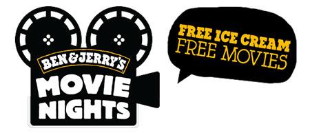 Ciné gratuit et glaces offertes aux soirées Ben et Jerry's Movie Nights