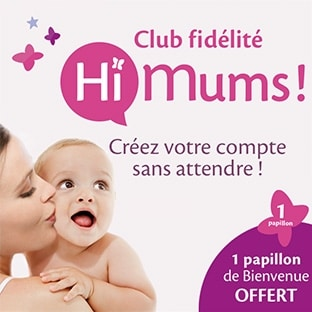 HiMums : Programme fidélité pour bébé qui rapporte des cadeaux