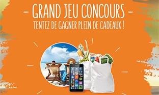 Jeu Auchan Drive : 53 cadeaux à gagner (séjour, smartphone…)