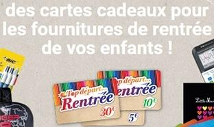Instants gagnants Carrefour Market : 792 cartes cadeaux
