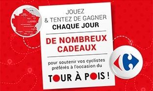 Jeu Carrefour Le Tour à Pois : 1335 cadeaux à gagner