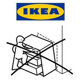 Kits anti-basculement IKEA gratuits : Fixez-le !
