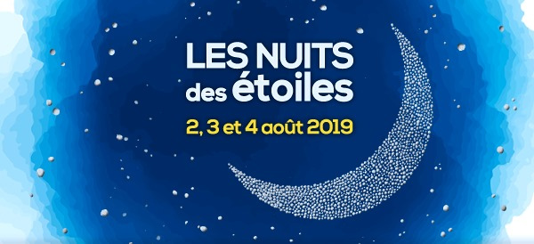 Les évènements de la nuit des étoiles 2019