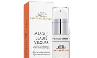 Test du masque Beauté Velours de Château Berger : 100 gratuits