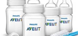 Bon plan soldes Kit Philips Avent : 4 biberons + 1 tétine à 19.99€