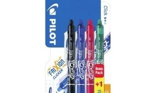 Carrefour : 4 stylos Pilot Frixion à 0,45€ au lieu de 4,90€