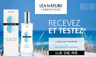 Test du parfum Ile de Ré Escapade Marine : 100 gratuits