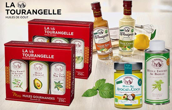 450 huiles La Tourangelle à gagner avec Version Femina