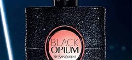 Échantillon de l'eau de parfum Black Opium d'Yves Saint Laurent