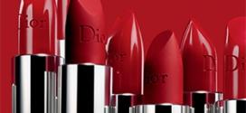 Échantillon Rouges à lèvres Dior : Palette de 4 teintes gratuite