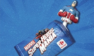 Carrefour Market : 16 figurines Marvel offertes à collectionner