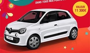 55 voitures à gagner avec le jeu anniversaire d'Auchan