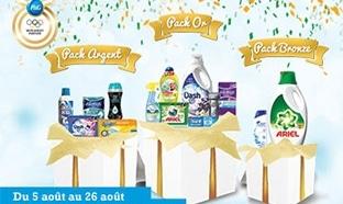 Jeu Envie de Plus : 150 packs de produits P&G à gagner